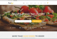 Fooddy 247 Food Ordering Delivery Theme