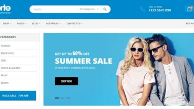 Woocommerce Themes Wordpress Ecommerce Theme Best Porto