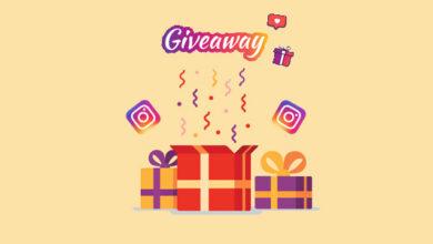 Instagram Giveaway Examples